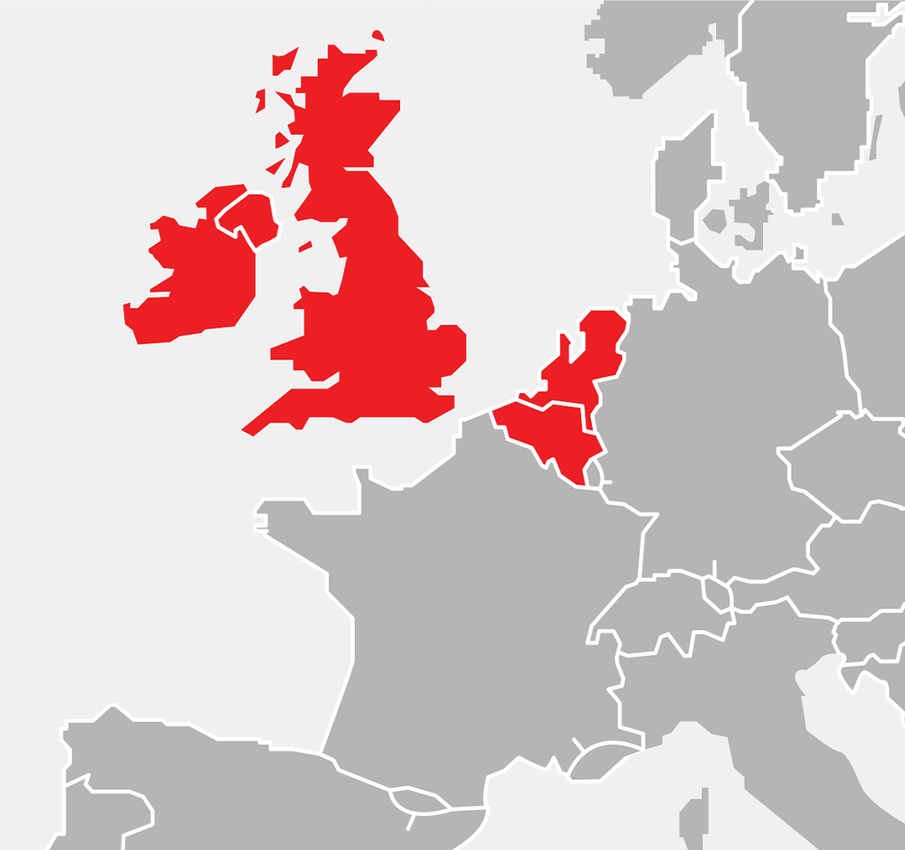 Mapka - Europa