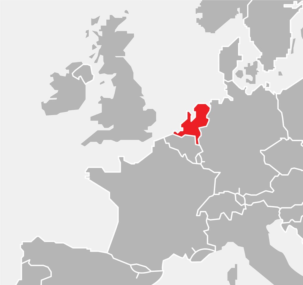 Map - Europe - Netherlands