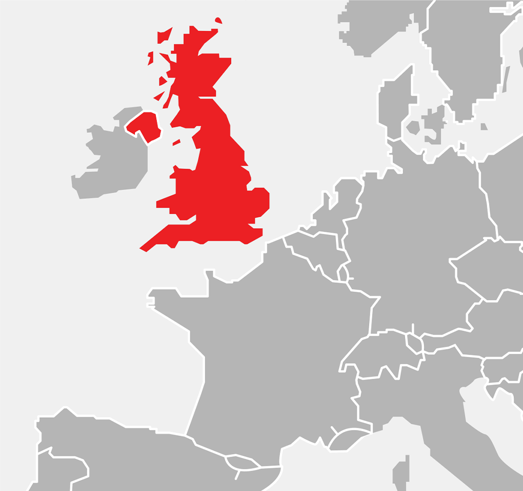 Map - Europe - United Kingdom