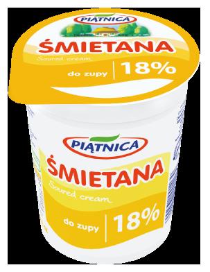 Piatnica Soured Cream 18%