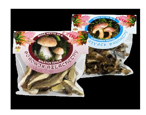 Dried Muszrooms